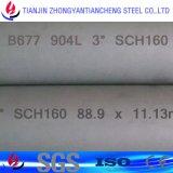 Tube d'acier inoxydable/pipe duplex superbes S31803 S32205 S32750 S32304