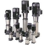Pompe de gavage verticale à plusieurs étages à haute pression d'acier inoxydable