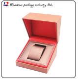 Cadre de mémoire en cuir de luxe d'étalage d'emballage de montre (Sy055)