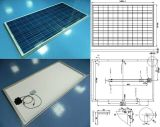 Luce solare Poly Crystalline Solar Panel PV Module 18V 36V 195W 200W 205W 210W con TUV Approved