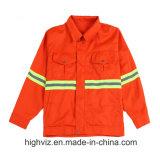 Het hoge Weerspiegelende Jasje van het Zicht voor Arbeiders (C2404)
