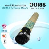 Color Toner Powder Japão Tomoegawa Tn216 Copiadora para Konica Minolta Bizhub C220 C280 C360 Máquina Fotocopiadora
