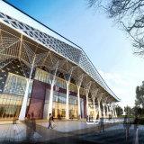 Wiedergabe-Abbildungen der Architektur-externe Fassade-3D