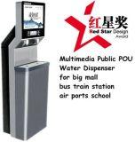 Depuratore di acqua pubblico con i CB del Ce