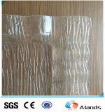 Il reticolo decorativo di arte di disegni fluttua la lamiera sottile acrilica del plexiglass