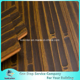 Hand Scratch Strand Woven Bamboo Parquet / Bamboo Flooring Interior Usage Super Qualidade Antiqued Bronze Color
