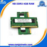 RAM 4GB низкой плотности 204pin 256MB*8 16chips Cl9 DDR3 для компьтер-книжки