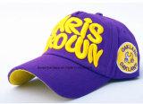 Le produit d'OEM d'usine de la Chine a personnalisé la casquette de baseball promotionnelle de coton brodée par Applique de logo