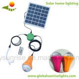 Beweglicher Solarbeleuchtung-Installationssatz der installationssatz Gleichstrom-Sonnenenergie-LED für Haupt- und im Freien