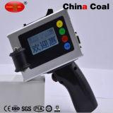 Impresora portable del código del tratamiento por lotes de la inyección de tinta para la bolsa de plástico