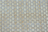 Het Patroon 8X8 pvc Geweven Placemat van het bamboe