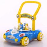 Baby, das Wanderer-Auto für die Kinder erlernen das Gehen drückt