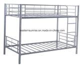 Moldura de cama de beliche de ferro de metal elegante