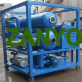 Doppio purificatore di olio del trasformatore di alto vuoto della pompa delle fasi
