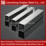 Pipe en acier carrée galvanisée par zinc pour le matériau de construction