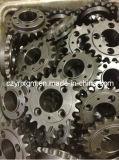 Блок цепного шкива цепей передачи колеса цепного колеса цепи цепного колеса шкива цепного блока стали углерода