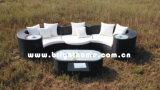 流行の屋外の藤のソファーはセットした(BP--873A)