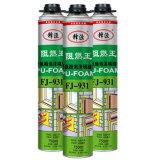 Colagem da água, espuma do plutônio ou espuma de poliuretano para o telhado Costruction