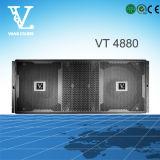 Vt4880 arreglo doble 18inch Subwoofer Línea utiliza con altavoz superior