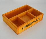 Caixa de madeira Handmade da parte alta para o armazenamento