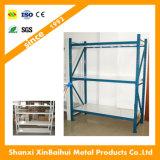 Estante de acero del estante del almacenaje de la estantería de la visualización del metal del supermercado del almacén de poca potencia