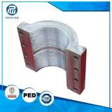O OEM presta serviços de manutenção anéis de aço industriais da maquinaria do CNC da elevada precisão da liga a meios