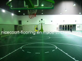 Suelo plástico de la cancha de básquet de Nicecourt para el uso de interior y al aire libre (campeón/profesional)