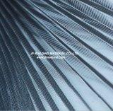 Pantalla plisada pantalla del insecto del Plisse de /Polyester de la fibra de vidrio de PP&PE/