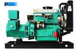 groupe électrogène 30kw diesel à quatre cylindres de cuivre pur