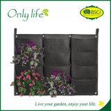 Plantador vertical material da parede de feltro de Onlylife PE& para o jardim Home