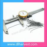 Il filo di acciaio di concentrazione ad alta resistenza/amo trafilati a freddo conclude la fibra d'acciaio