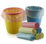 PEのごみ袋の使い捨て可能なごみ袋ロールプラスチック大箱袋