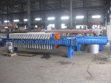 Imprensa de filtro hidráulico Recessed para a lavagem de carvão