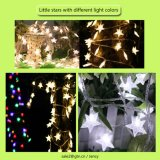 Hermosas luces LED String con diversos ornamentos