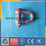 熱い販売の中国の安い価格よいQualitygalvanized私達ナットG2130が付いている熱い造られた安全弓手錠