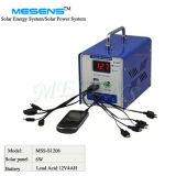 mit Sonnenenergie-Solargenerator des LCD-neuem hellem Generator-6W