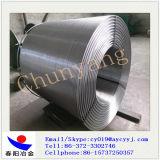 安陽の製造業者からのステンレス鋼のホイール・カバー、ホイール・キャップCasiによって芯を取られるワイヤーカルシウムケイ素ワイヤー