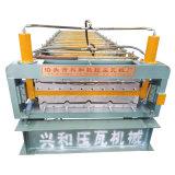 Rullo completamente automatico di doppio strato che forma macchina per il comitato del tetto