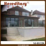 Балюстрада нержавеющей стали стеклянная для балкона и палубы (SJ-S078)