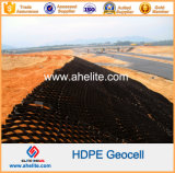 Anti-Weathering Plastic HDPE Geocell pour Slope Protection et Foundation Construction