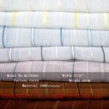 服のスカートのスカーフのためのヤーンによって染められるポリエステル軽くて柔らかいファブリック