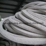 アルミニウムケイ酸塩の絶縁体のセラミックファイバの正方形編みこみのロープのガスケット