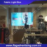 La Caliente-Venta estupenda de la calidad que hace publicidad del rectángulo ligero de la tela del LED, visualiza el rectángulo ligero