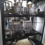 2개의 분사구 및 4개의 LCD 디스플레이를 위한 휘발유 펌프의 연료 분배기