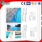 Échelles d'acier inoxydable d'utilisation de piscine, échelles de syndicat de prix ferme de balustrade