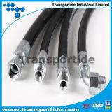 Tubo flessibile industriale di gomma ad alta pressione del combustibile derivato del petrolio dell'acqua dell'aria