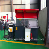 Machine de découpage de connecteur de coin de guichet en aluminium