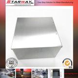 Gabinete de fabricação de chapa metálica para caixas de energia elétrica