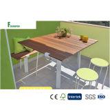 Banco ao ar livre composto impermeável & tabela do projeto italiano WPC