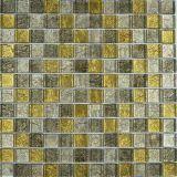 Mosaico de cristal de la hoja para la decoración casera